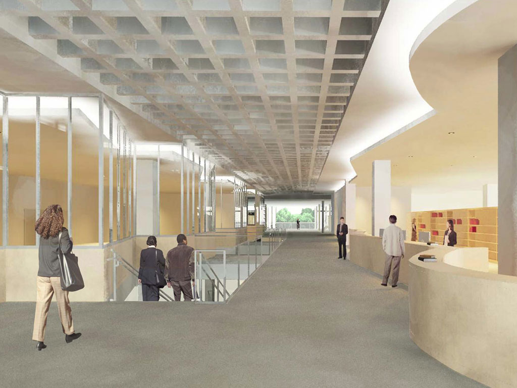 Georgetown University Library « Bowie Gridley Architects