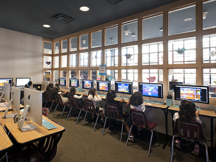 Meridian Public Charter School 171 Bowie Gridley Architects