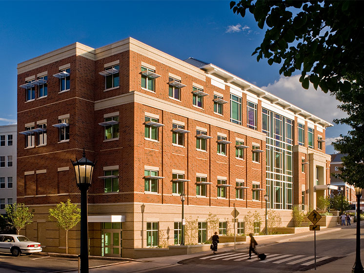 Uva Nursing Education Building 171 Bowie Gridley Architects
